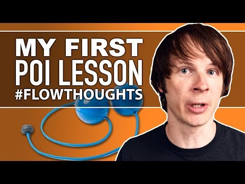 My First Poi Lesson #flowthoughts