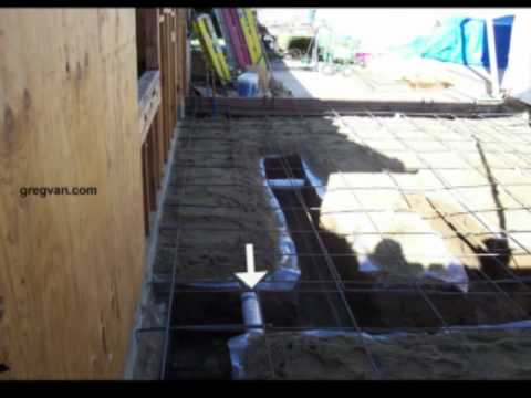 Structural Load Bearing Wall Foundation Footing - Concrete Construction