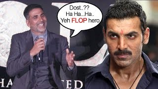 Akshay Kumar Makes FUN Of John Abraham's Comment On Gold Vs Satyamev Jayate Clash On 15th Aug 2018