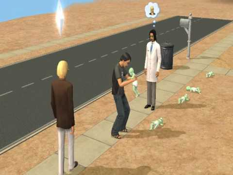 The Sims 2 cheat ,,FORCETWINS