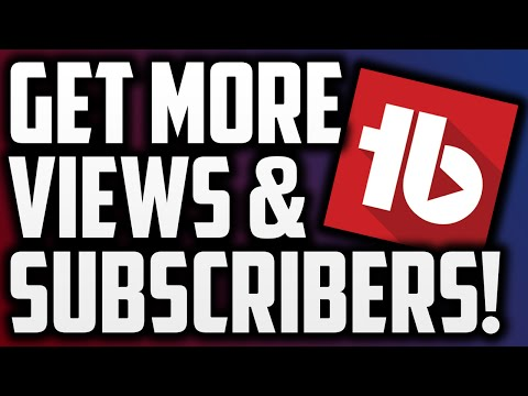 How To Get More Views And Subscribers On YouTube Using TubeBuddy!