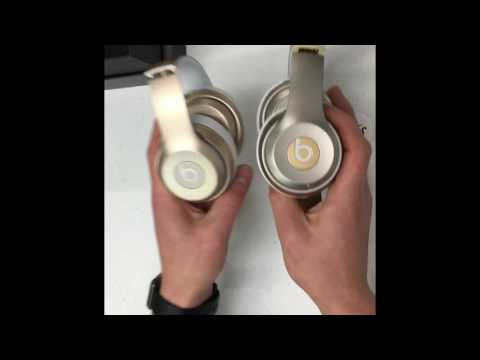 Fake VS Real Beats By Dre Solo2 Wireless