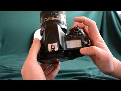 How to set a custom white balance on the Nikon D600