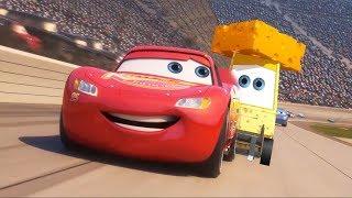 Cars 3 New Scene Cheesy Grease Lightning Mcqueen Fix