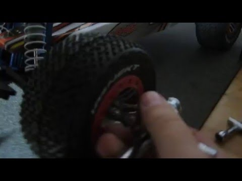 How remove a stuck rc tire