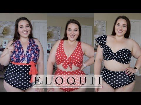 ELOQUII 2018 Swim Try On Haul!👙 |Plus Size Fashion|