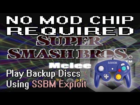 GameCube Softmod - Run Backup Discs Using SSBM Exploit (2015 Method)