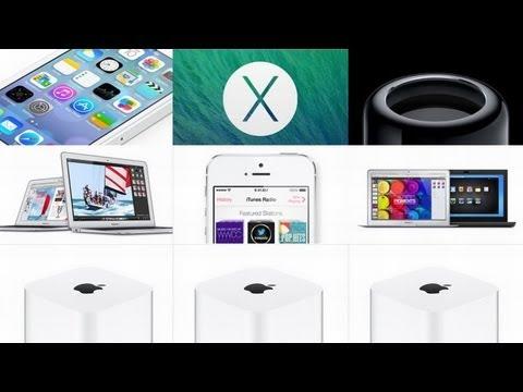 Apple WWDC 2013 - iOS7, iTunes Radio, Mac Pro
