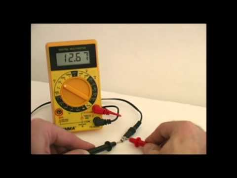 How to test a DC Power Supply - Technical Training for Musicians - Guitar / Bass Players.