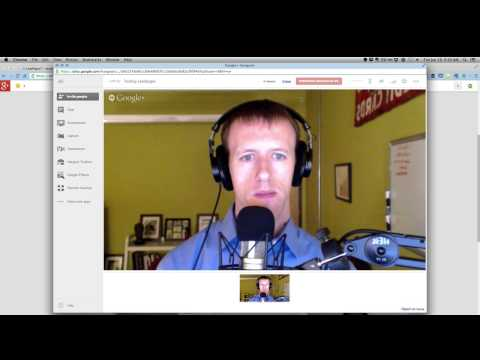 How to make webinars with unlimited attendees using LeadPages & Google Hangouts