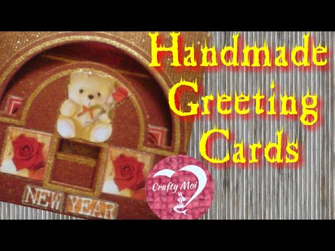 EASY TO MAKE HANDMADE GREETING CARDS    DIY FAREWELL CARDS    DIY NEW YEAR CARDS
