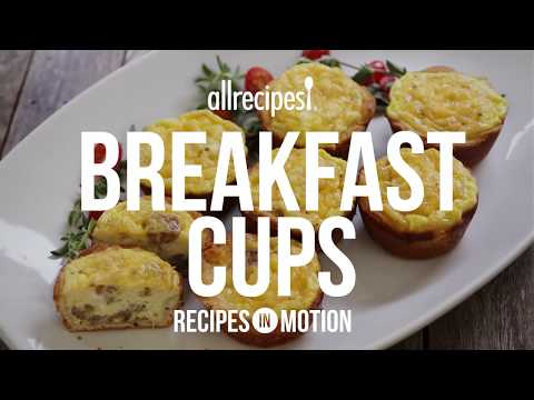 How to Make Breakfast Cups   Sausage Recipes   Allrecipes.com