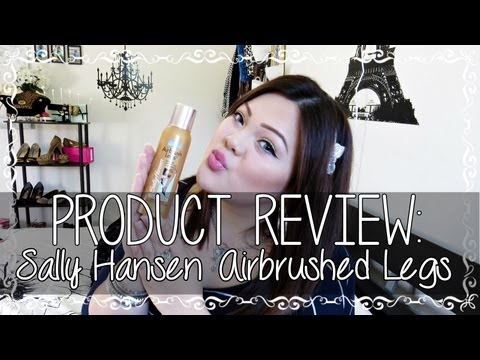 Hide Cellulite - Sally Hansen Airbrushed Legs Review ♥