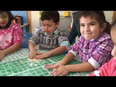 KG Baking Activity at RFS // Parent Involvement
