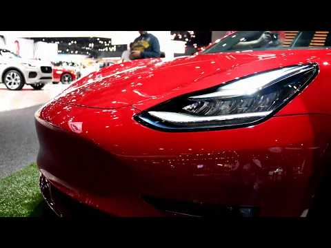 2018 Tesla Model 3 walk around