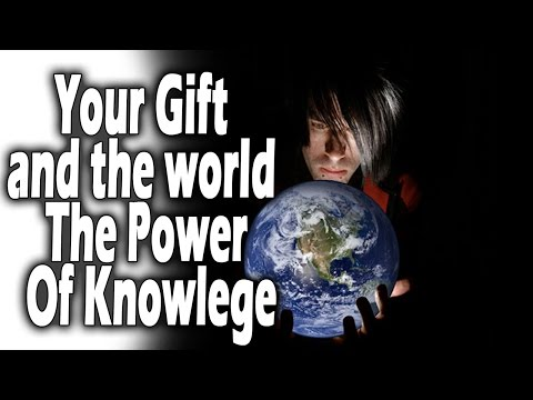 Entrepreneur course | Your Gift and the world The Power Of Specialized Knowlege