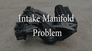 Mercedes E220 CDI inlet manifold dissasembled from engine