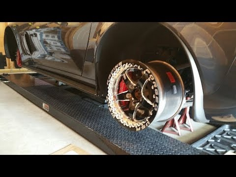 Mounting Tires on Beadlocks & Wheel Fitment, Boosted C6 Build, Part 61