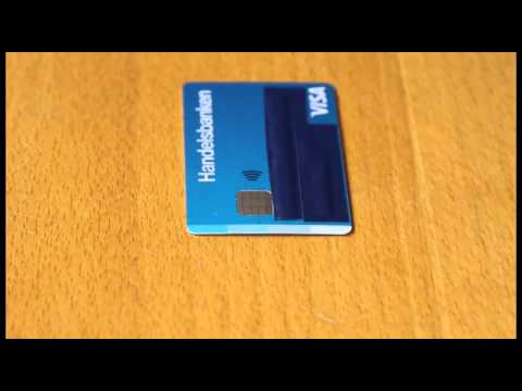 How to disable the RFID / NFC in your credit or debit card
