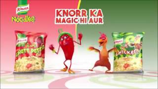 Enter the world of fun and magic with Knorr Noodles!