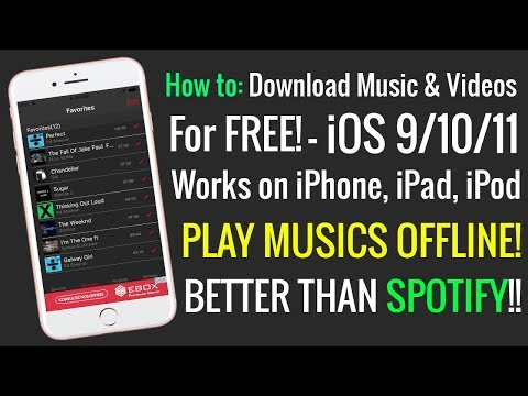 NEW Method To Download Music & Videos FREE iOS 10/11/9 (NO JAILBREAK / NO PC) iPhone, iPad, iPod