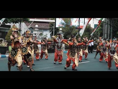 Karnaval Lumajang HUT RI 72 - SMAN Lumajang