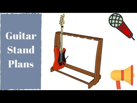 Guitar Stand Plans