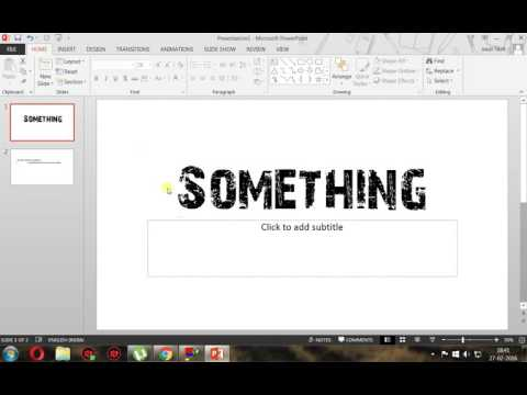 how to make a quiz show in PPT