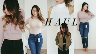 Summer Haul #2: Missguided, TopShop, H&M, Forever 21 | HAUSOFCOLOR