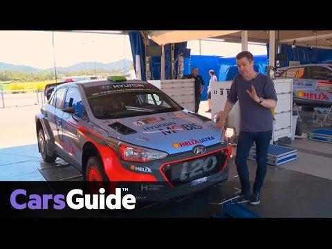 2016 Hyundai i20 WRC   anatomy of a rally car video