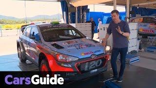 2016 Hyundai i20 WRC | anatomy of a rally car video