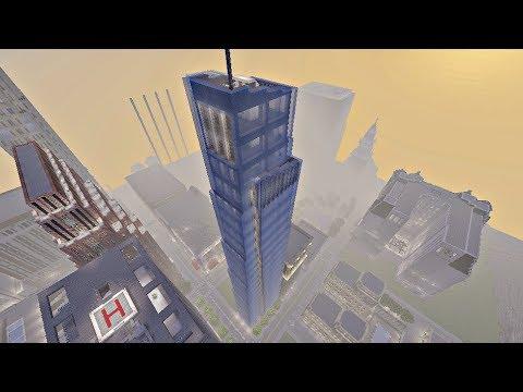 36 Hour Mega Skyscraper Build! (Minecraft Xbox)