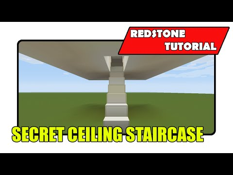 Secret Ceiling Staircase [3 High] (Minecraft Xbox TU23/CU11/PlayStation CL1.15)