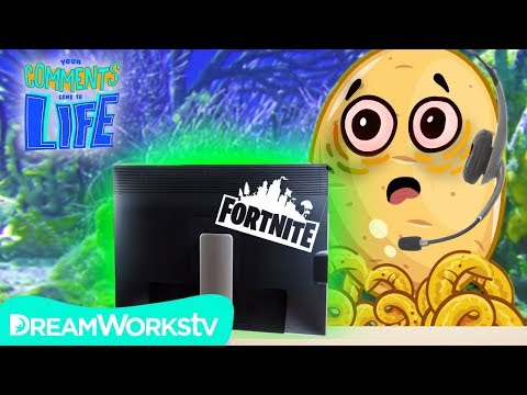 What Playing FORTNITE For The First Time Feels Like | YOUR COMMENTS COME TO LIFE