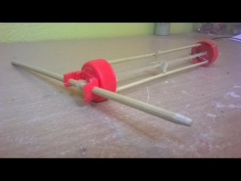How to make an Easy Rubber Band Powered Car.(Very fast rubber band Car)