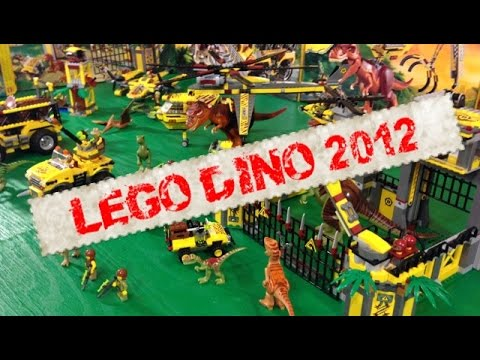 LEGO DINO 2012 - The Complete Collection! All the Dinosaurs!