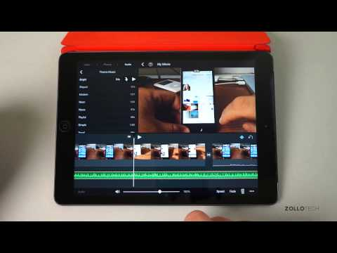 iMovie for iPad and iPhone How To - Add Music and Voiceovers