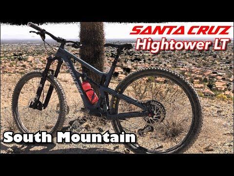 Santa Cruz Hightower LT Test Ride and Review | South Mountain Trails | Phoenix, AZ