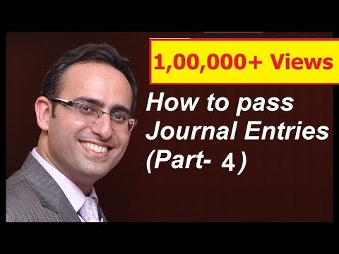 How to make Journal Entries (Video-4) (Journal Entries related to LOAN taken from and Given)