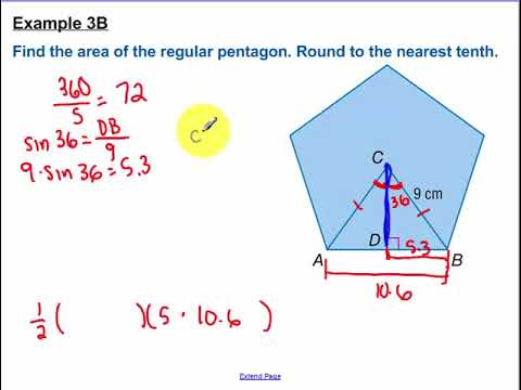 11.4 - Area of Regular Polygons and Composite Areas