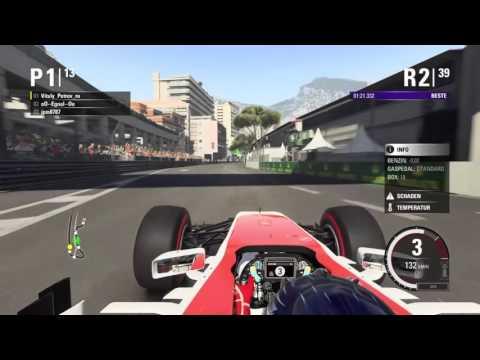 F1 2015 NGF1-Unity: 7.Saisonrennen - Monaco (Ausschnitte)