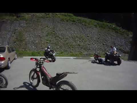 Sun Peaks Enduro 2010 on a trials bike. Graham Turner POV
