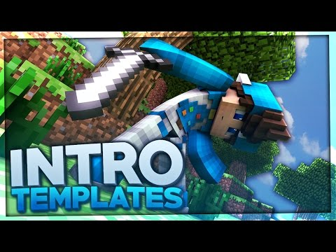 TOP 10 MINECRAFT INTRO TEMPLATES +FREE Download [Blender, C4D, AE]
