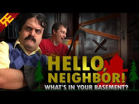 Hello Neighbor: What's In Your Basement (Live Action Musical)
