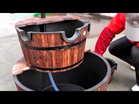 How To Assemble Three Tier Waterfall Fountain