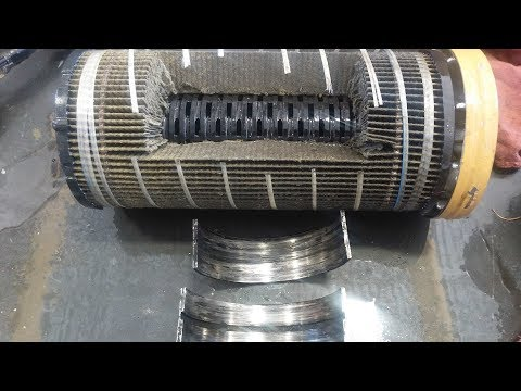 How To Inspect Your Oil Filter For Engine Damage.  Cut Your Oil Filter Open.