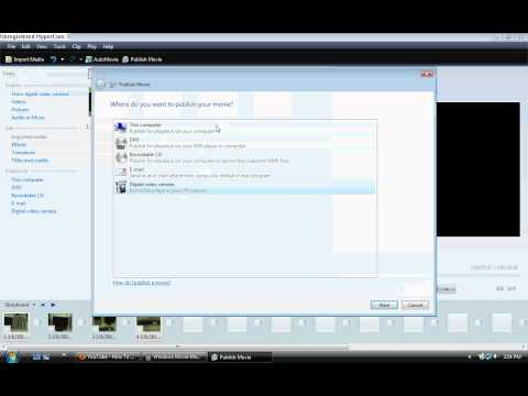 How Convert Windows Movie Maker To Wmv