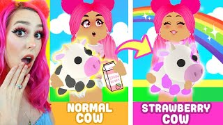 How To Get A *STRAWBERRY COW* In Adopt Me! (Roblox)