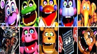 FNAF SFM] Ultimate Custom Night Jumpscares - Buxrs Videos