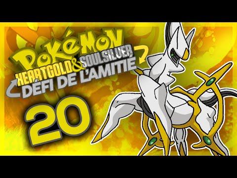 POKÉMON OR HEART GOLD #20 - ARCEUS le vilain ! - DÉFI DE L'AMITIÉ